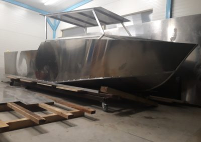 Výroba hliníkových lodí